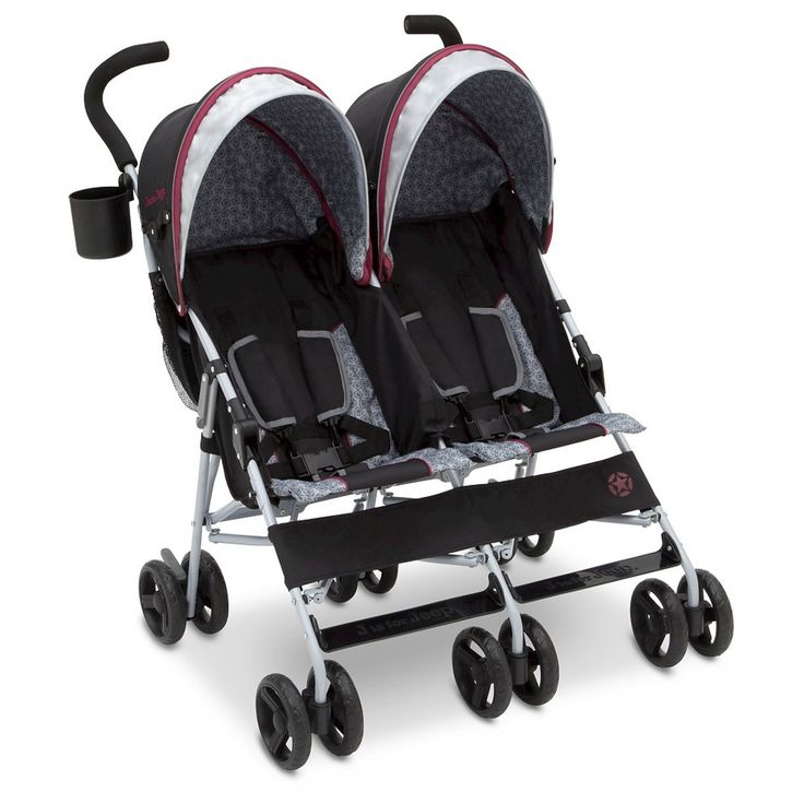 Jeep Scout Double Stroller Lunar Burgundy Double