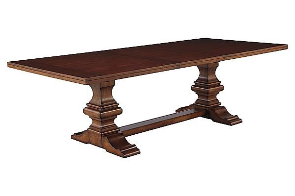 The North Shore Dining Room Extension Table From Ashley Furniture HomeStore AFHS A Deep Rich Stained Finish And Exquisite Details Come Toget