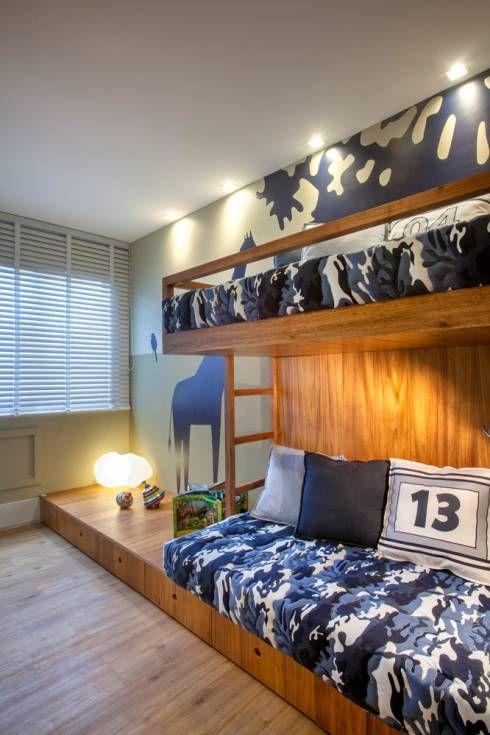 Apartamento decorado RJZ -: Salas de estar Moderno por Gisele Taranto Arquitetura