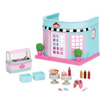 Li'l Woodzeez Mini Rooms - Ice Cream Parlor