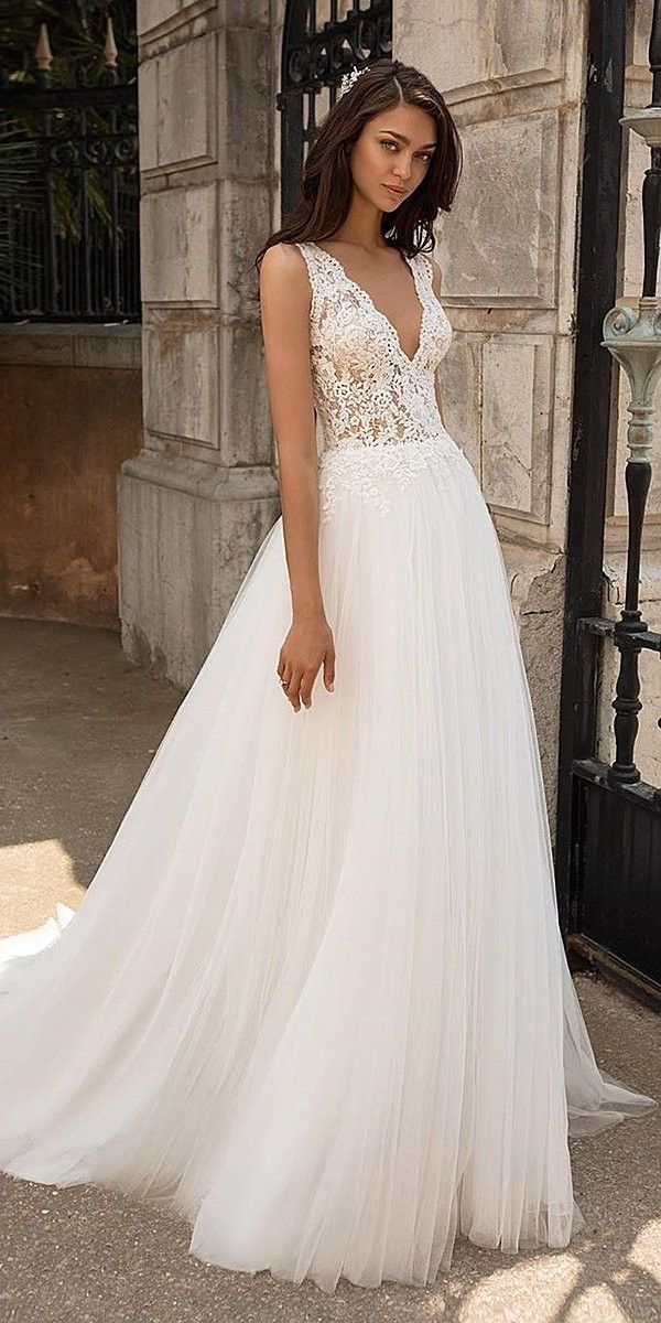 30 A Line Wedding Dresses 2020 2021 In 2020 A Line Wedding Dress Lace Top Wedding Dress Long Sleeve Wedding Dress Lace