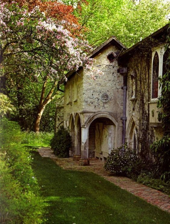 The Old Vicarage at the Cambridgeshire village of Grantchester is a house associated with the poet Rupert Brooke (1887-1915), who lived nearby and in 1912 immortalised it in his eponymous poem 'The Old Vicarage, Grantchester'.