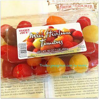 トレジョのエアルームトマトでカプレーゼ Trader Joe's  Mini Heirloom Tomatoes(エアルーム トマト)を買ってみました。454g 2.99ドルです