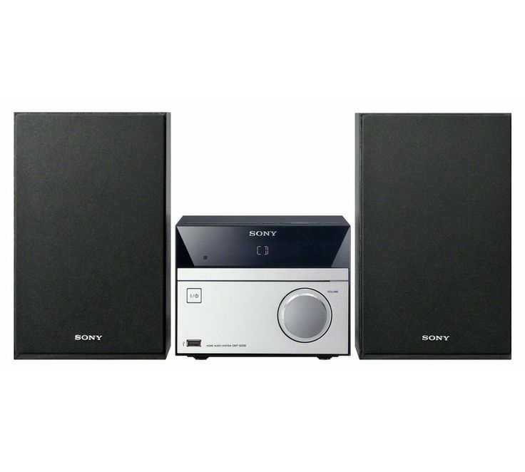 Buy Sony CMT-S20B DAB Radio/ Micro Hi-Fi System with Bluetooth at Argos.co.uk, visit Argos.co.uk to shop online for Hi-fi systems, Home audio, Technology