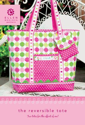 The Reversible Tote - a DIY sewing pattern!