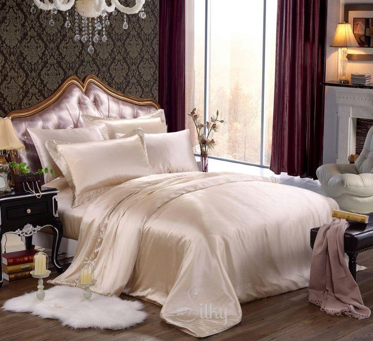 Silk Comforter Sets  http://www.snowbedding.com/ more at http://www.snowbedding.com/glossary/silk-comforter-sets/