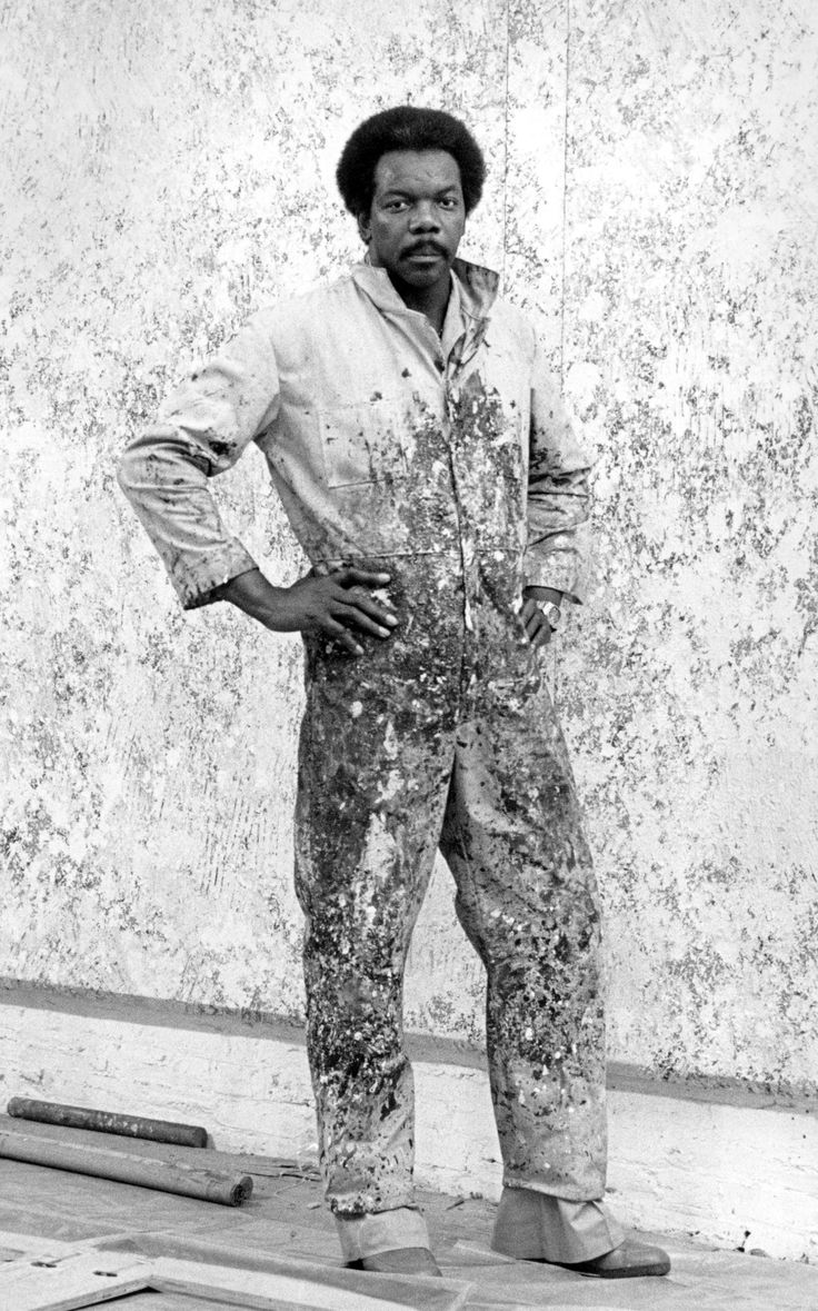 Paul Feinberg, Sam Gilliam - 1969, 1969. Silver gelatin print. 20 x 16 in. Courtesy of the artist.