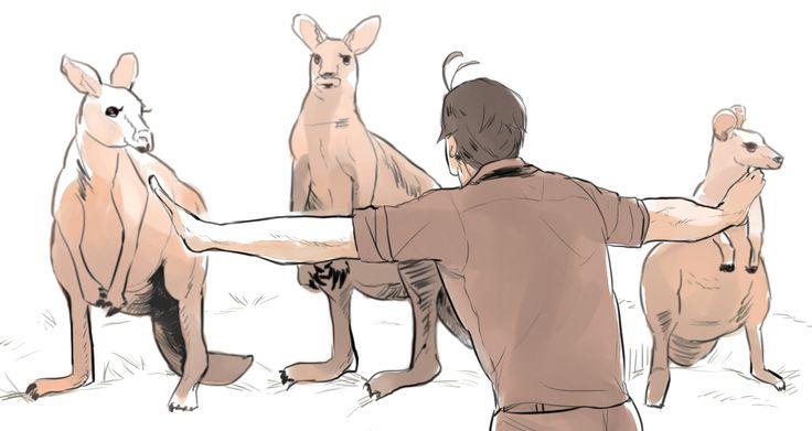 """TUDTAD-E: Amikor Cook kapitány felfedezte Ausztráliát az egyik bennszülöttnél volt egy ismeretlen döglött állat. Cook egyik embere megkérdezte angolul: """"Milyen állat ez?"""" A bennszülött azt felelte az ő nyelvén, hogy """"nem tudom"""",vagyis """"kenguru"""""""