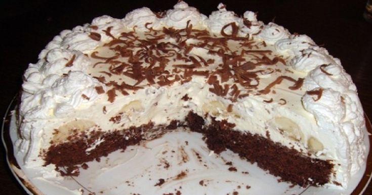 Úžasná banánová torta s vanilkovým krémom! Lepšiu tortu ste v živote nejedli