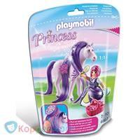 PLAYMOBIL 6167 Prinses Viola met paard om te verzorgen - Koppen.com
