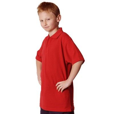 Kids Polycotton Pique Polo Shirt Min 25 - 220 gsm poly/ cotton pique knit. http://www.promosxchange.com.au/kids-polycotton-pique-polo-shirt/p-9498.html