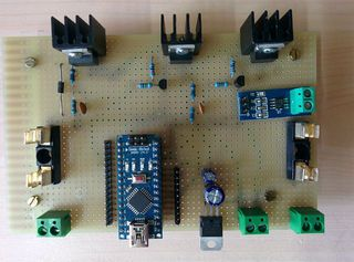 Arduino Solar Charge Control