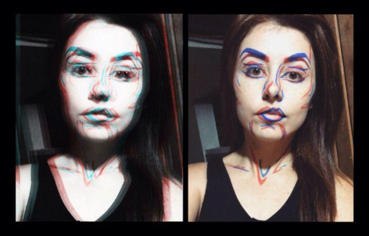 3D - DIY Halloween Makeup