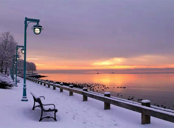 Bridgeport, Connecticut. A beautiful scene from the city where I was born.