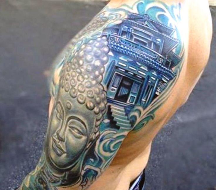 best 20 japanese temple tattoo ideas on pinterest asian tattoo sleeve temple tattoo and. Black Bedroom Furniture Sets. Home Design Ideas