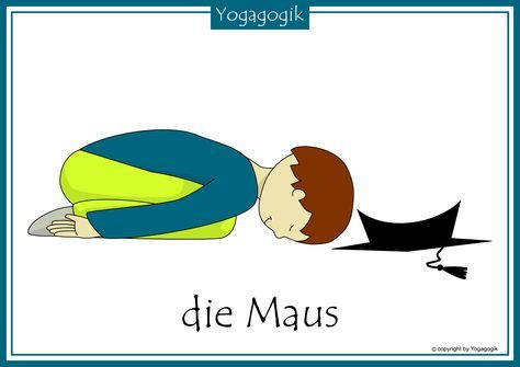 Kinderyoga Flashcards Maus