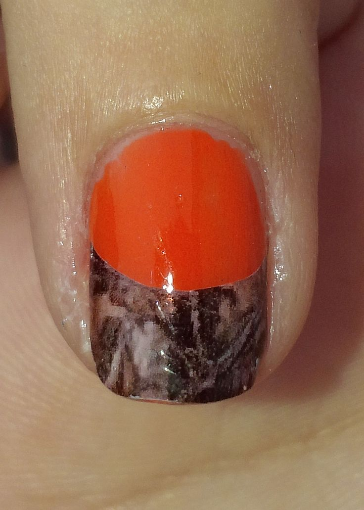 Images For > Mossy Oak Camo Acrylic Nail Tips