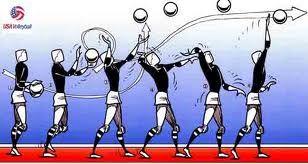 El saque, uno de los golpeos más importantes en voleibol.