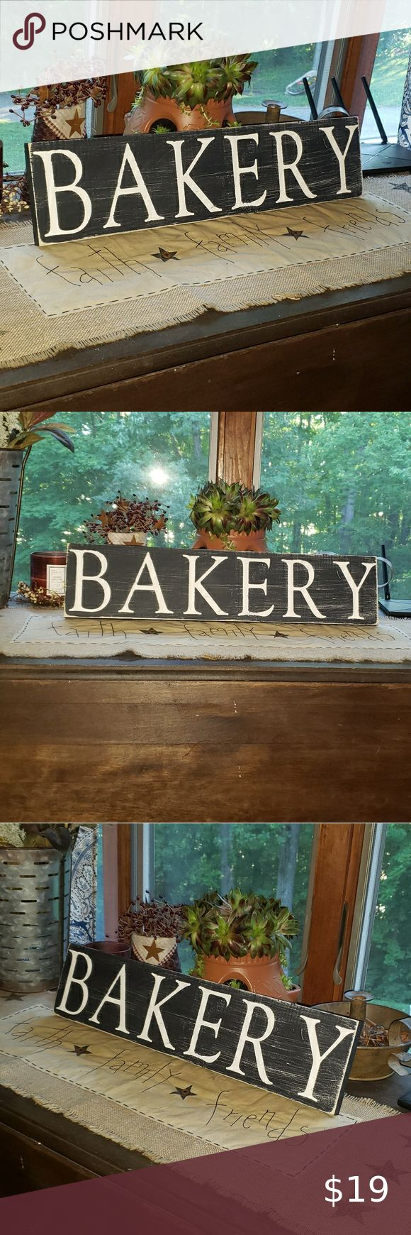 NEW Handmade B&W BAKERY Farmhouse Kitchen … in 2020