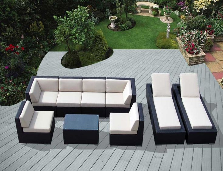 The Beautiful Sectional Outdoor Furniture Clearance Sets Is One Of Pictures That Are