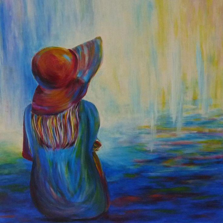 attente tableau elize chapeau tableau femme