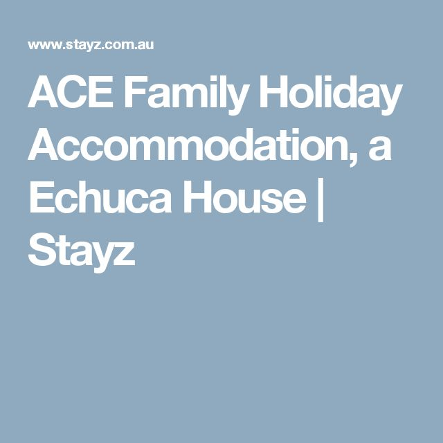 ACE Family Holiday Accommodation, a Echuca House | Stayz