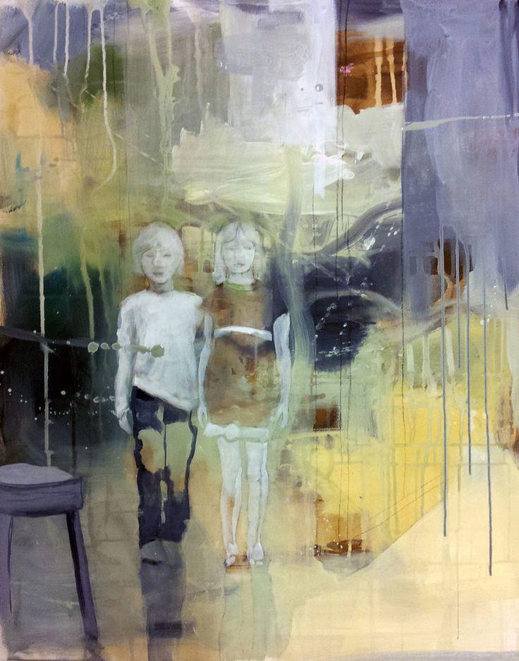 HANS OG GRETHE BY ANNE-BRITT KRISTIANSEN  #fineart #art #painting #kunst #maleri #bilde  https://annebrittkristiansen.com/paintings/2013/
