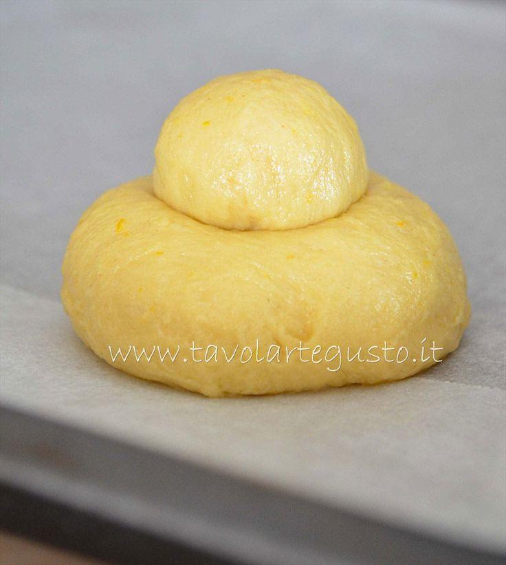 Brioche siciliana - Brioche col tuppo - Pasta Brioche Ricetta - Brioches dolci