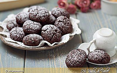 Biscotti al cacao senza burro e uova, ricetta