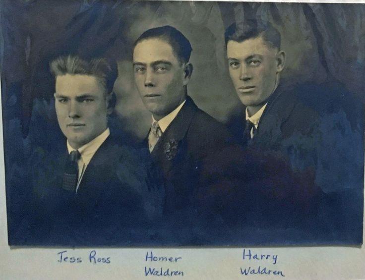 Jess Ross, Homer Waldren, Harry Waldren