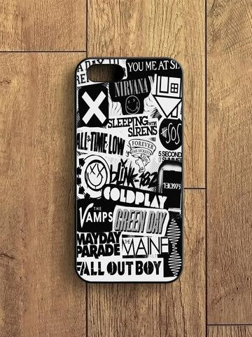 5sos Coldplay Fall Out Boy The Vamps 1975 iPhone 5 S Case