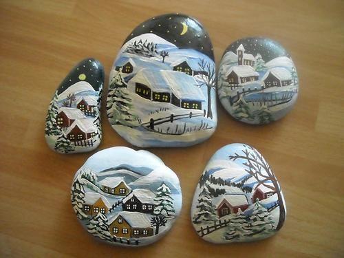 Maľované kamene « Galerie   Patchwork