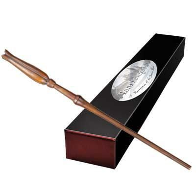 Kenzie - One of my favorite discoveries at HarryPotterShop.com: Luna Lovegood's Wand by Noble Collection