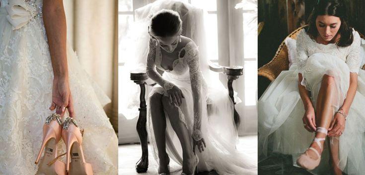 Cei mai doriti pantofi de nunta pentru miresele 2016