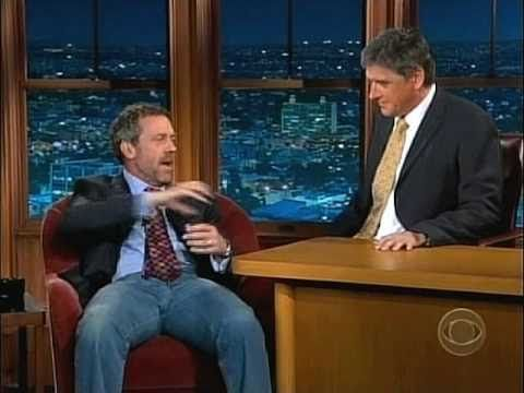 Some man-love between Hugh Laurie & Craig Ferguson. Sure it's from a few yrs ago but who really gives a toss?!