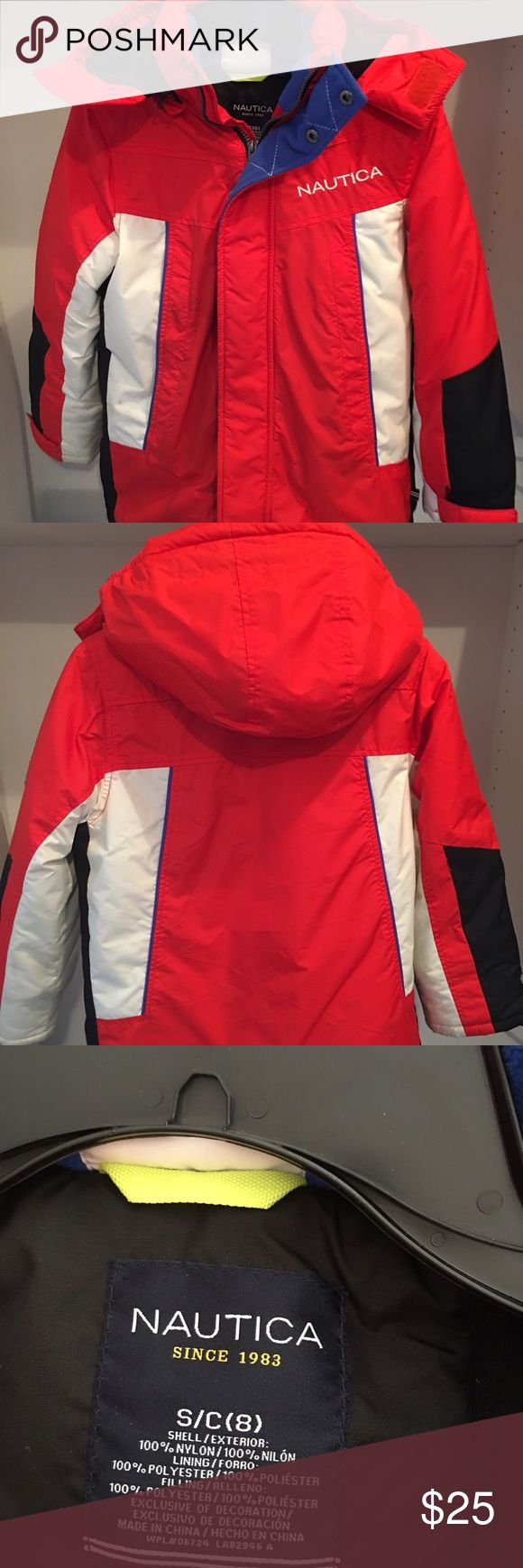 ❄️NWOT Like new heavy duty young boys winter coat ❄️Excellent condition! Nautica boys winter coat, removable hat. Let's make this yours today! Nautica Jackets & Coats