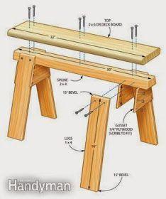 Como fazer você mesmo: Como fazer um cavalete de madeira para suporte em seus trabalhos