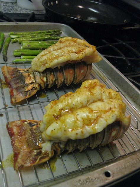 how to cook spiny lobster tail