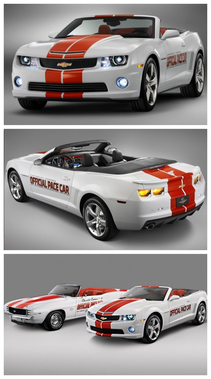 One of a kind 2011Camaro Indy Pace Car convertible #MusclecarMonday