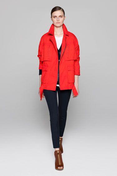 A.L.C. Resort 2013 Red Jacket - The Best Looks from Resort 2013 - Harper's BAZAAR