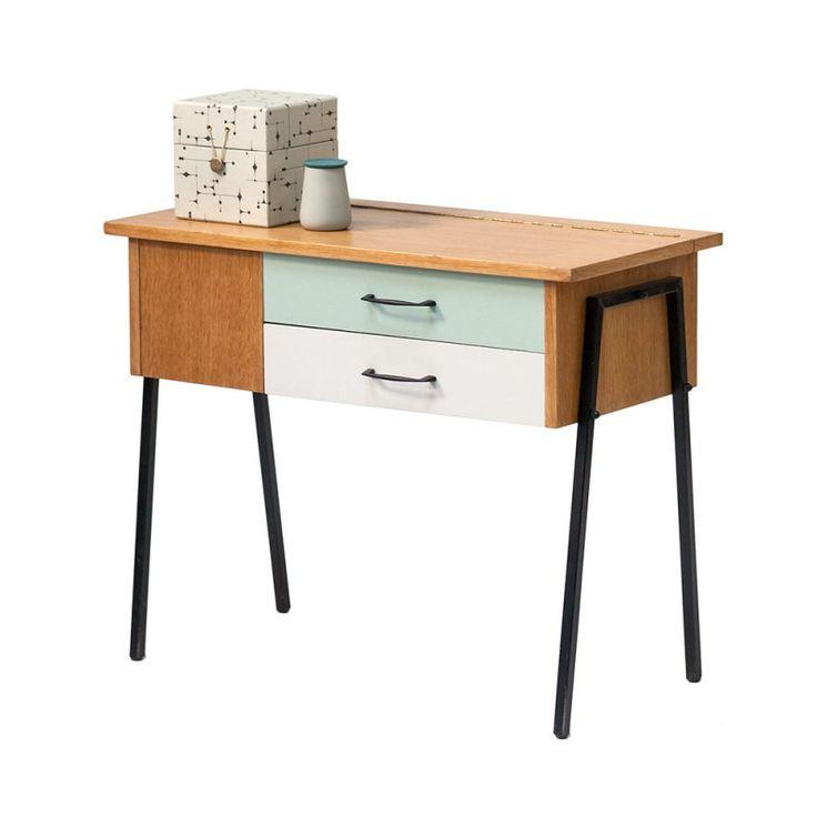 """Meuble rangement travailleuse vintage années 50 """"Avant garde"""" #rienacirer #vintage #meuble #meublevintage #vintagefurniture #decoration #home #interior"""