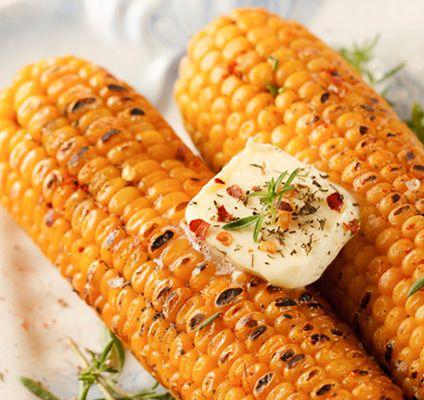 Rezept für gegrillte Maiskolben