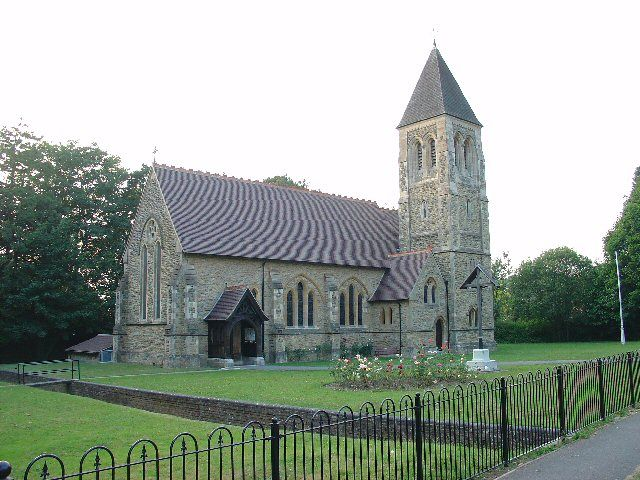 All Saints Church, Roffey, Horsham, West Sussex - the very church which made me want to live in Horsham!