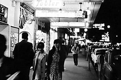 King's Cross, Sydney, Australia ca 1968.