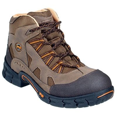 Timberland Pro Boots Timberland PRO Boots Men's Expertise 50500 Brown Steel Toe Hiking Boots TB050500210,    #TimberlandProBoots,    #TB050500210,    #Men'sHikingBoots