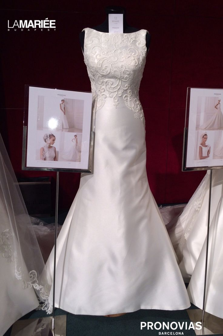 Bonnie esküvői ruha by Pronovias 2015 - La Mariée Budapest szalon http://lamariee.hu/eskuvoi-ruha/pronovias/bonnie