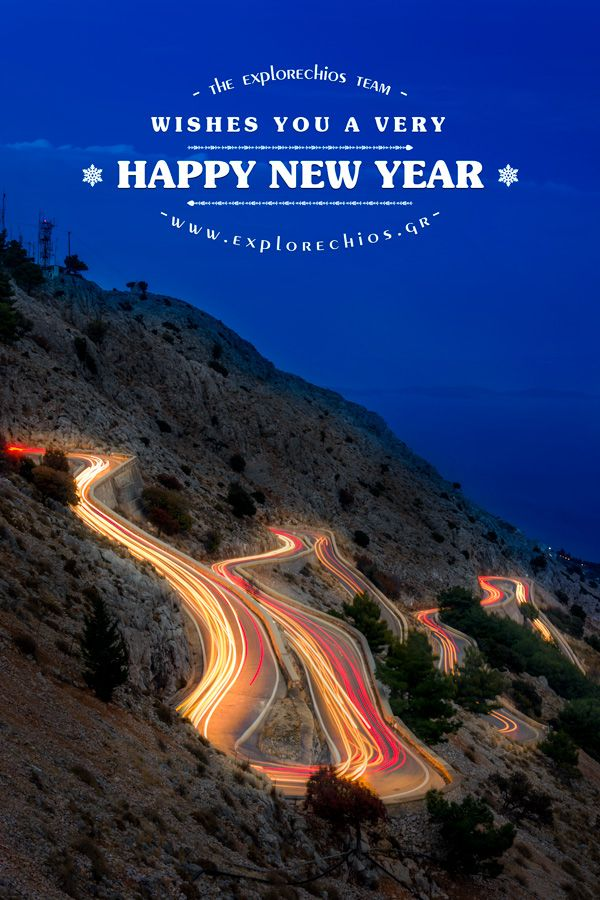 We wish a Happy New Year full of health and creation! Thank you once again for your comments and support! www.explorechios.gr