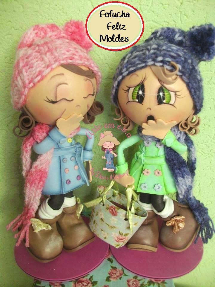 Hoy un patrón nuevo de fofuchas. Esta vez esta muñeca fofucha feliz, con moldes gratis para que tu también puedas hacerla. Bonitas, verdad?