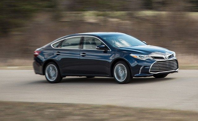 2019 Toyota Avalon With New Design Will Be Shown At 2018