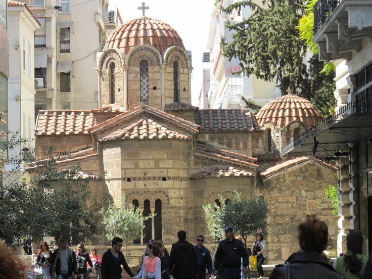 Athens Kapnikarea church